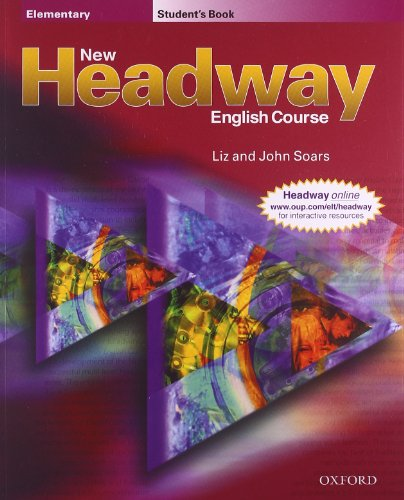 9780194366779: New Headway Elementary Students Book (New Headway English Course)
