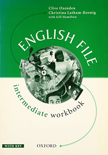 9780194366793: English File: Workbook (with Key) Intermediate level