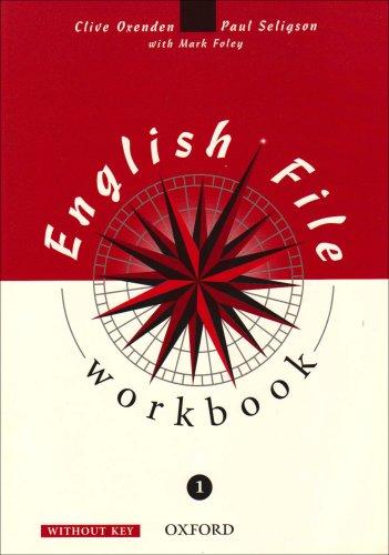 9780194368605: English File: Workbook (without Key) Level 1