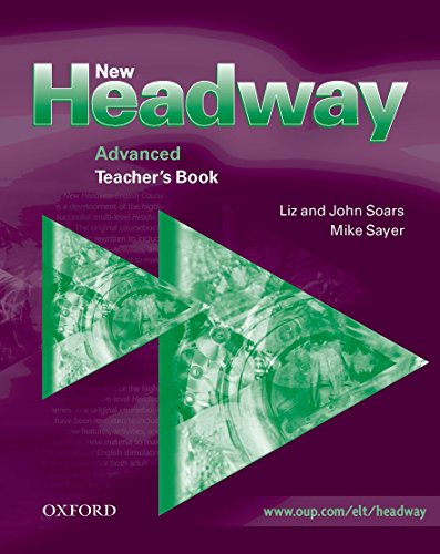 9780194369312: New Headway: Advanced: Teacher's Book
