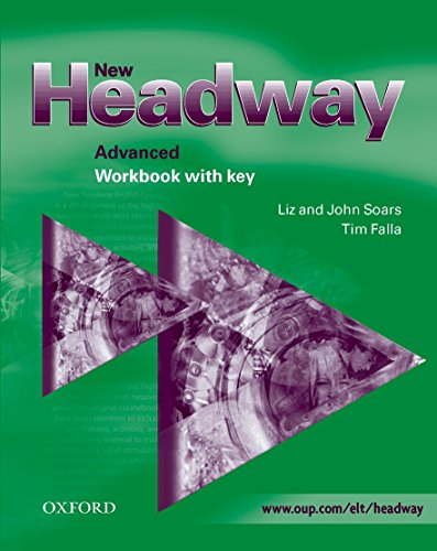 9780194369329: New Headway Advanced Workbook with Key: Workbook (with Key) Advanced level (New Headway First Edition)