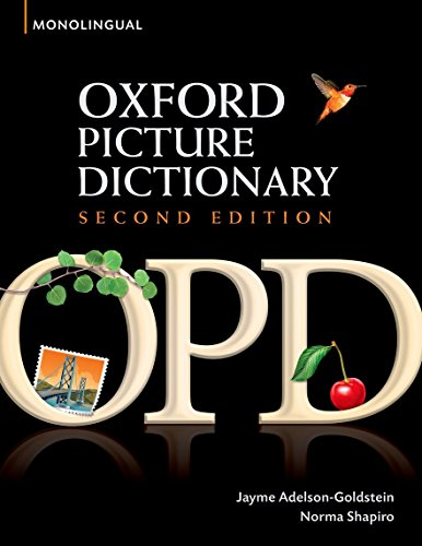 9780194369763: Oxford Picture Dictionary (Monolingual English)