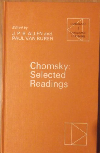 9780194370462: Chomsky: Selected Readings