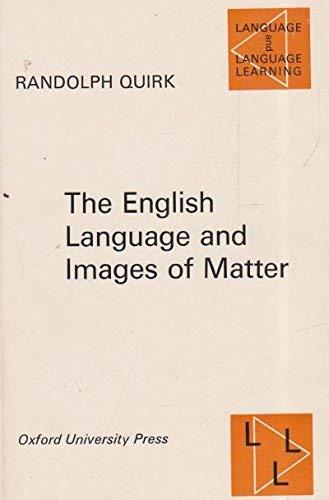 9780194370561: English Language and Images of Matter