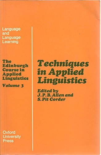 Readings for Applied Linguistics: Volume 3: Allen, J.P.B. and