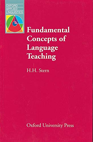 9780194370653: Fundamental Concepts of Language Teaching (Oxford Applied Linguistics)