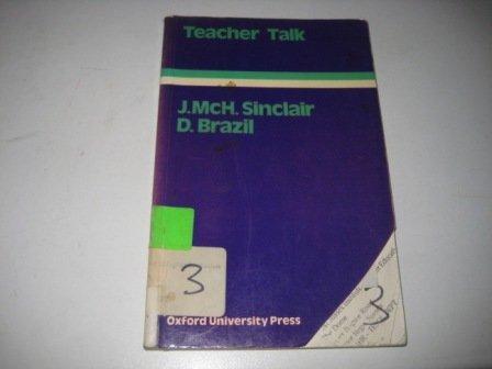9780194370745: Teacher Talk