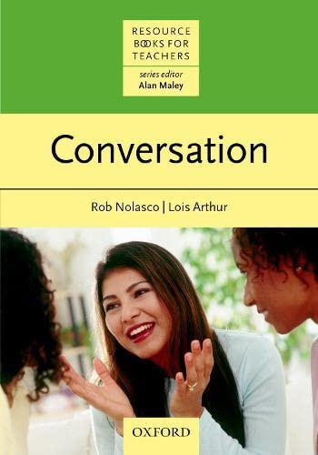 9780194370967: Conversation (Resource Books for Teachers)