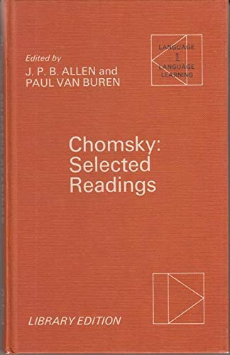 9780194371148: Chomsky: Selected Readings