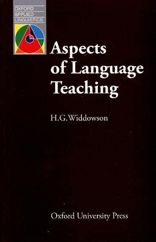 9780194371285: Aspects of Language Teaching (Oxford Applied Linguistics)