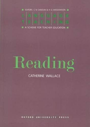 9780194371308: Language Teaching. a Scheme for Teacher Education: Reading