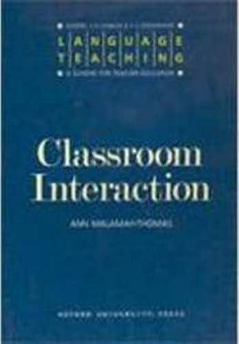 9780194371315: Language Teaching: A Scheme for Teacher Education: Classroom Interaction