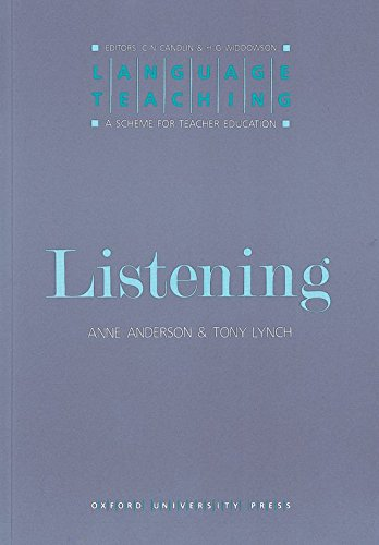 9780194371353: Language Teaching Listening: A Scheme for Teacher Education