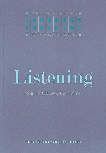 9780194371353: Listening: Language Teaching: A Scheme for Teacher Education