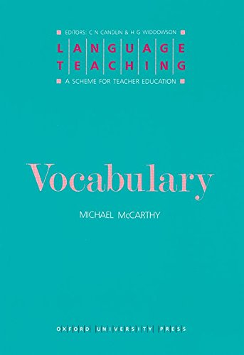 9780194371360: Language Teaching. a Scheme for Teacher Education: Vocabulary
