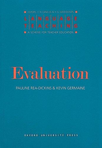 9780194371384: Evaluation
