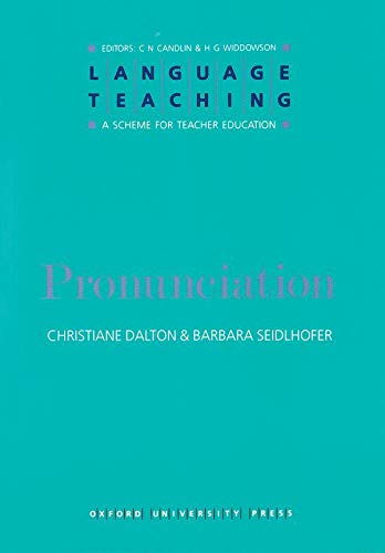 9780194371971: Language Teaching. a Scheme for Teacher Education: Pronunciation