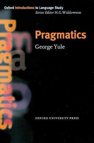 9780194372077: Pragmatics