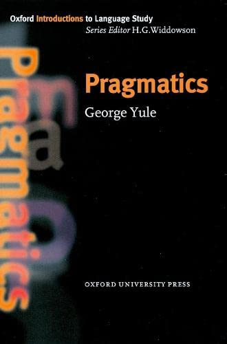 9780194372077: Pragmatics (Oxford Introduction to Language Study Series)