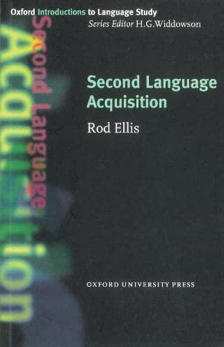 9780194372121: Second Language Acquisition
