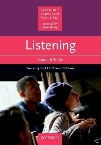 9780194372169: Listening (Resource Books for Teachers)