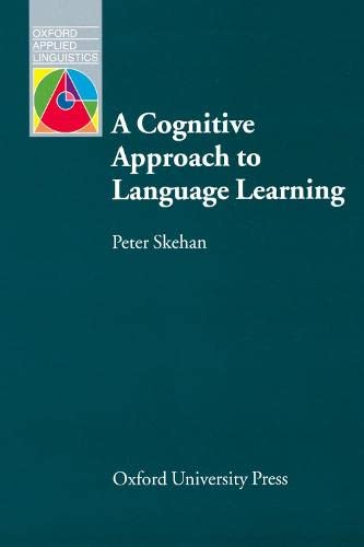 9780194372176: A Cognitive Approach to Language Learning (Oxford Applied Linguistics)