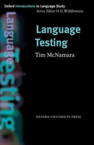 9780194372220: Oxford Introduction to Language Study: Language Testing