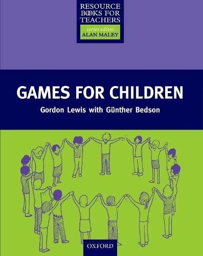 9780194372244: Games for Children
