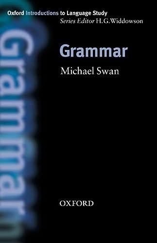 9780194372411: Grammar (Oxford Introduction to Language Study Series)