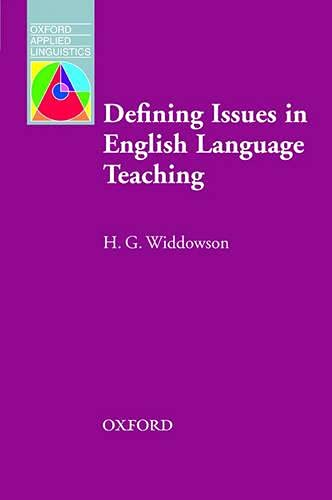 9780194374453: Defining Issues in English Language Teaching (Oxford Applied Linguistics)