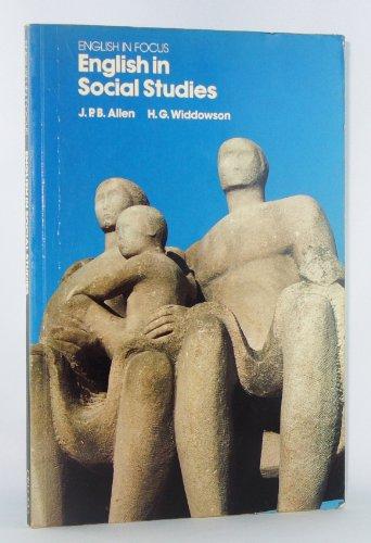 English in Social Studies (English in Focus) (0194375188) by Allen, J. P. B.; Widdowson, H.G.