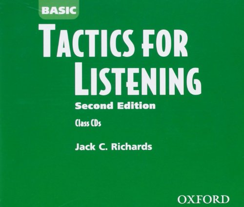 9780194375283: Basic Tactics for Listening: Class Audio CDs (3)