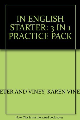 IN ENGLISH STARTER: 3 IN 1 PRACTICE: PETER AND VINEY,