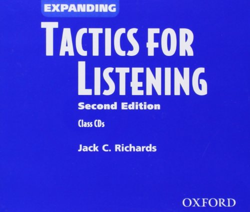9780194375429: Tactics for Listening: Expanding Tactics for Listening, Second Edition: Tactics for Listening Expanding: CD (2) 2nd Edition