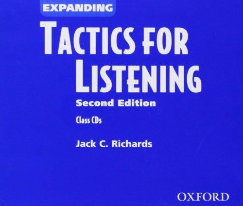 Tactics for Listening: Expanding Tactics for Listening,: Richards, Jack C.