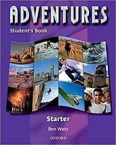9780194376600: Adventures Starter: Adventures start. Student's book. Per le Scuole superiori