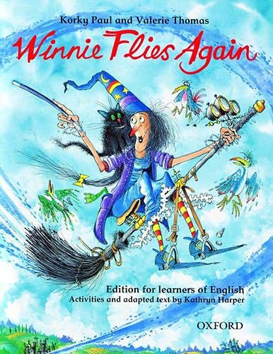 9780194377096: Winnie Flies Again: Story Book (with Activity Booklet) (Winnie The Witch) - 9780194377096