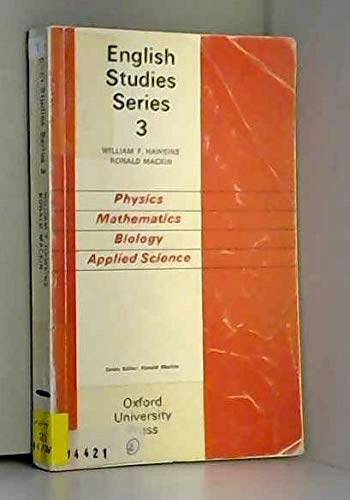 9780194377133: Physics, Mathematics, Biology, Applied Science (English Studies)