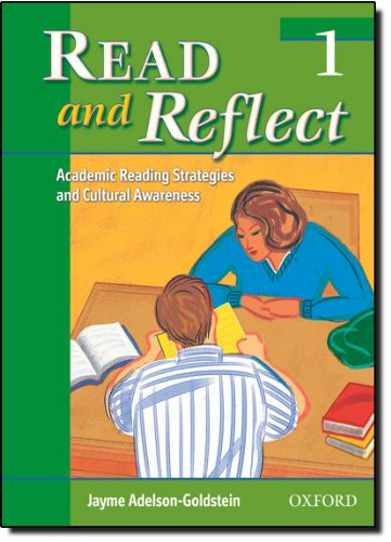 9780194377294: Read and Reflect 1: Academic Reading Strategies and Cultural Awareness
