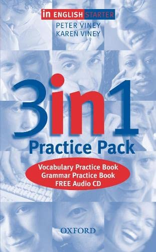 9780194377447: IN ENGLISH STARTER 3 IN 1 PRACTICE PACK