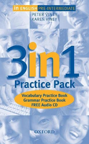 9780194377461: In English Pre-Intermediate: Practice Pack: 3 in 1 Practice Pack and Audio CD Pre-intermediate lev
