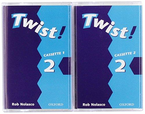 TWIST ! LEVEL 2 CASSETTES (2) (9780194377591) by NOLASCO