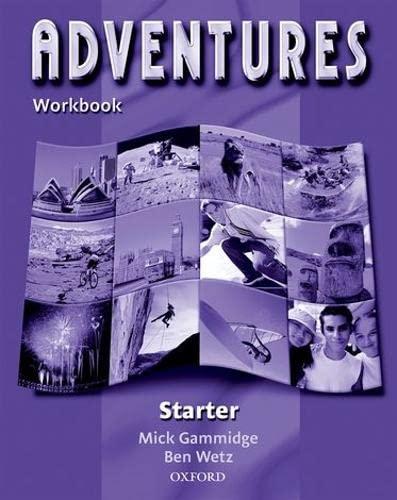Adventures Starter: Workbook: Workbook Starter level -: Ben Wetz