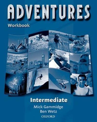 9780194378123: Adventures: Intermediate: Workbook