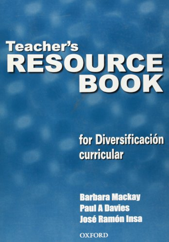 9780194378222: TEACHER'S RESOURCE BOOK FOR DIVERSIFICACION CURRICULAR.