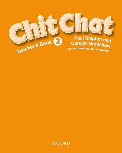 9780194378376: Chit Chat: Teacher's Book Level 2