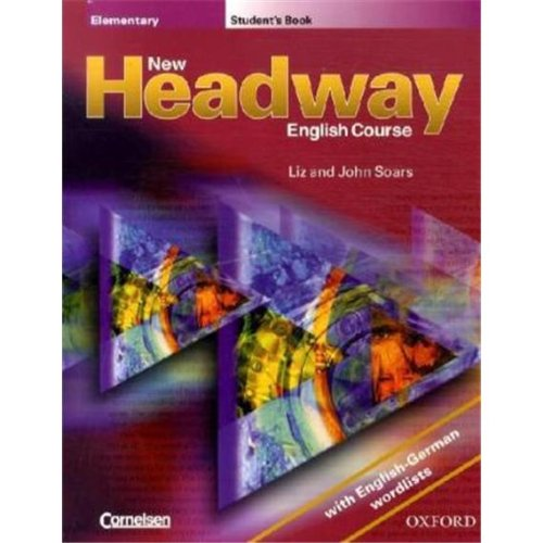 9780194378758: New Headway. Elementary. Student's Book: With English-German wordlists