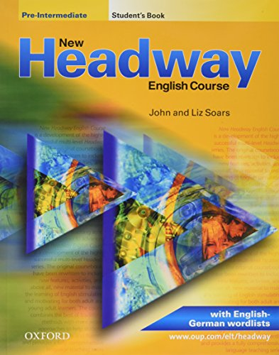 9780194378765: New Headway. Pre-Intermediate. Student's Book. Mit zweisprachiger Vokabelliste. English Course