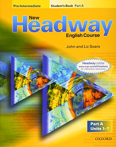 9780194378796: New Headway english course pre-intermediate. Student's book. Per le Scuole superiori: New Headway Pre-Intermediate. Student's Book A: 1 (New Headway First Edition)