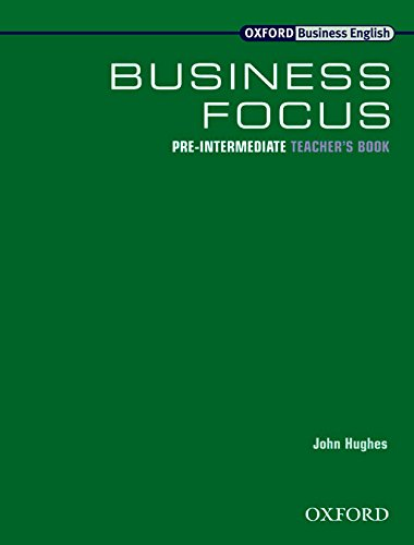 9780194379779: Business Focus Pre-Intermediate: Teacher's Book: Teacher's Book Pre-intermediate lev